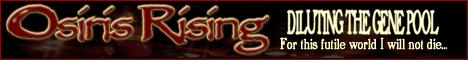 Osiris Rising banner